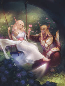 Commission: Leorii and Veloestian