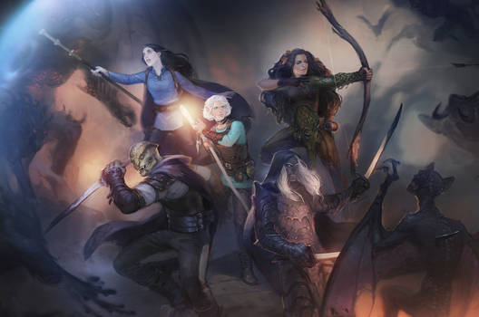 Commission: DnD group