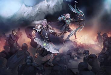 Commission: Glaedr and Trea'il