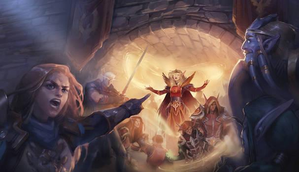 Commission: Divine Hymn
