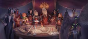 Commission: The Sunguard Guild