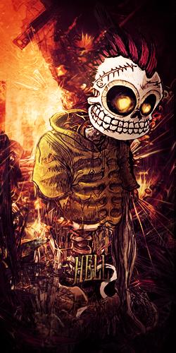 Hell vert by SpalvotasZaltys