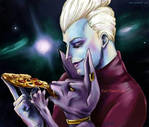 Whis and Beerus Pizza