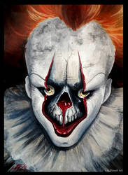 Pennywise the Clown by K-EL-P