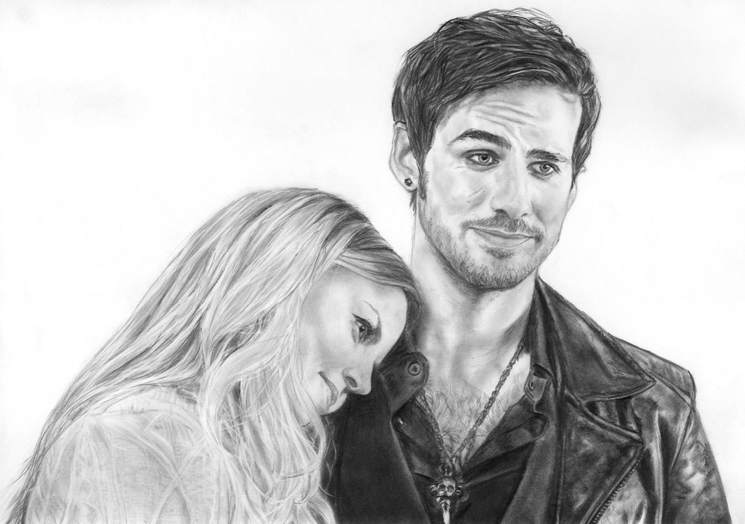 Captain Hook Once Upon A Time And Emma 70849 Loadtve