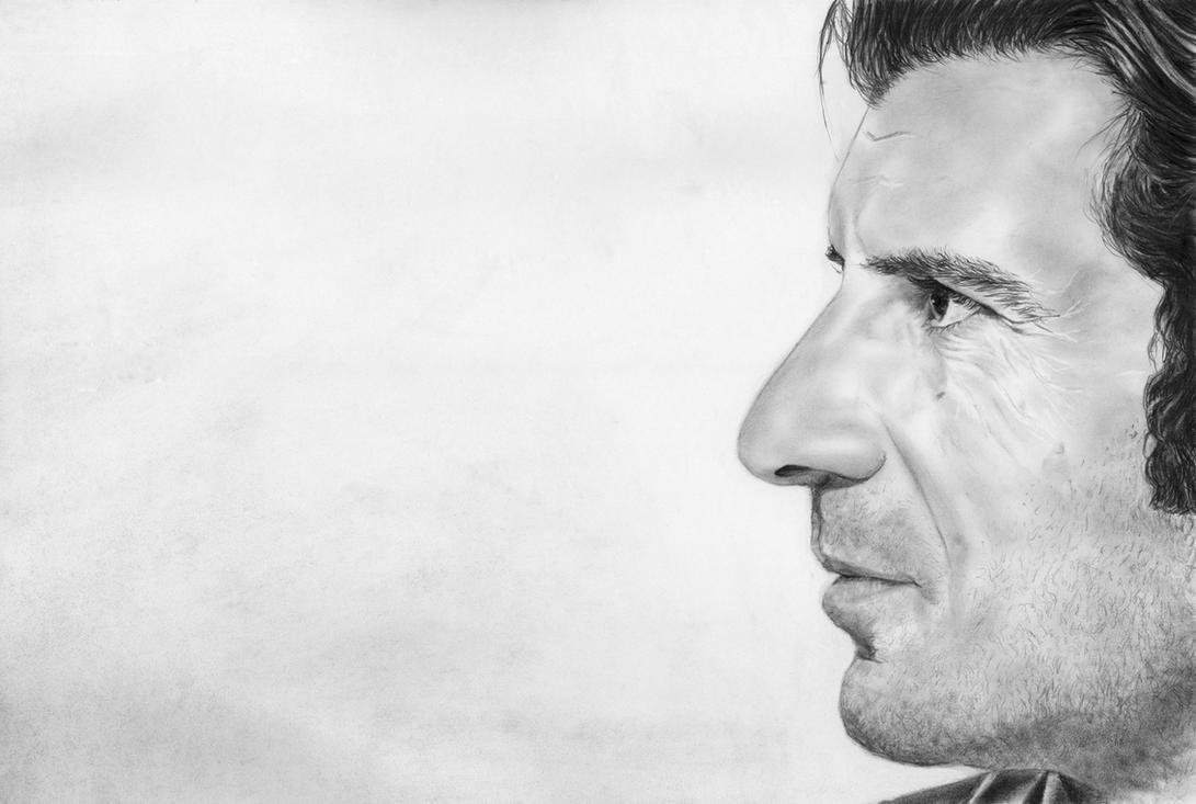Luis Figo by in3ganka