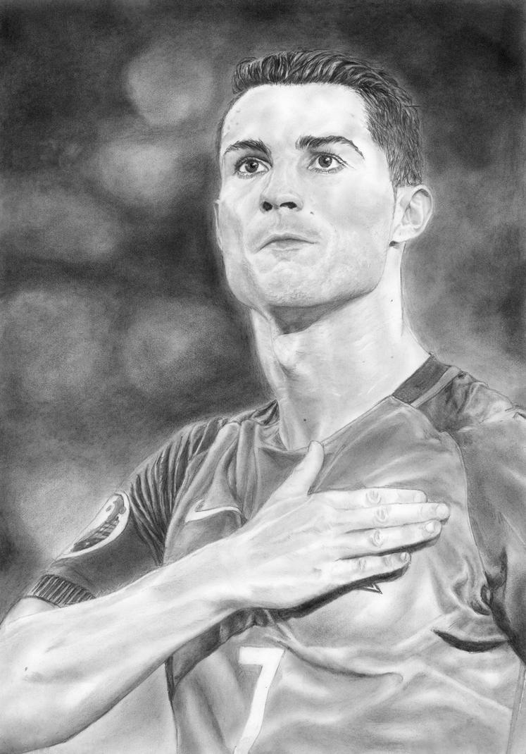 Cristiano Ronaldo by in3ganka