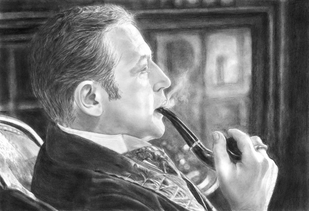 Sherlock Holmes, Vasiliy Livanov by in3ganka
