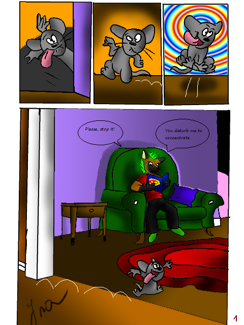 Home, sweet home pg 1 by RetroCharo