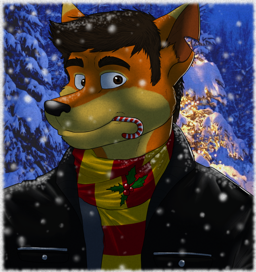 Christmas avatar by RetroCharo