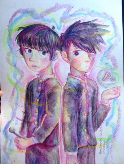 Kageyama bro's by chirimoyu