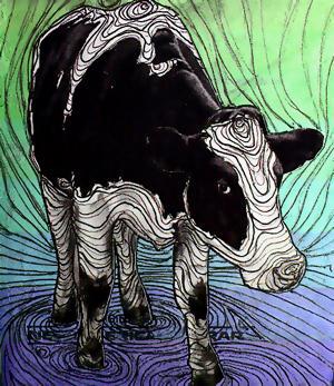 Mad cow by thaknobodi