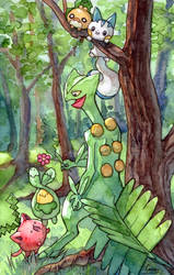 Sceptile and Friends
