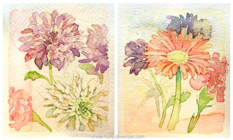Flower Cards by ChiakiNeko