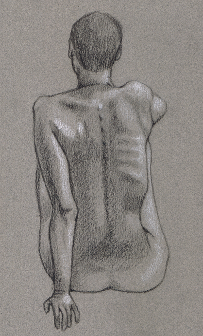 Life Drawing 10- Susan by jackalandromeda