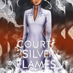 A Court of Silver Flames Cover Design by Catstudio7