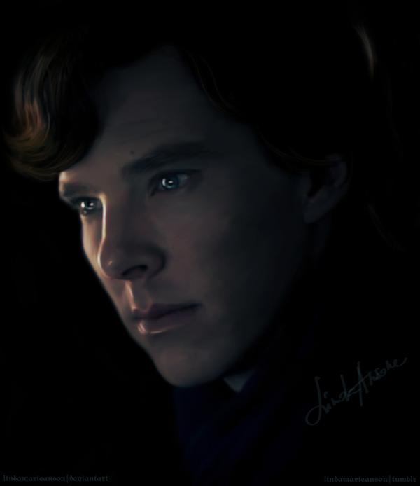 Sherlock by LindaMarieAnson