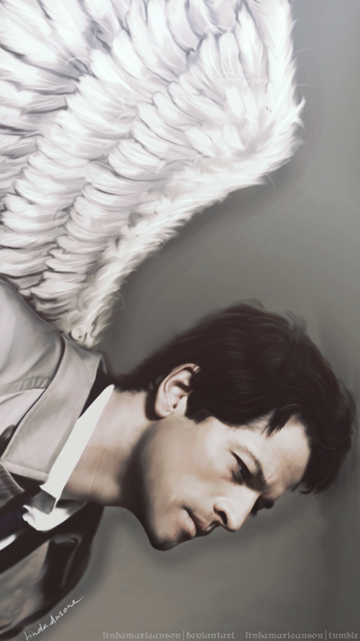 the angel of the lord by LindaMarieAnson