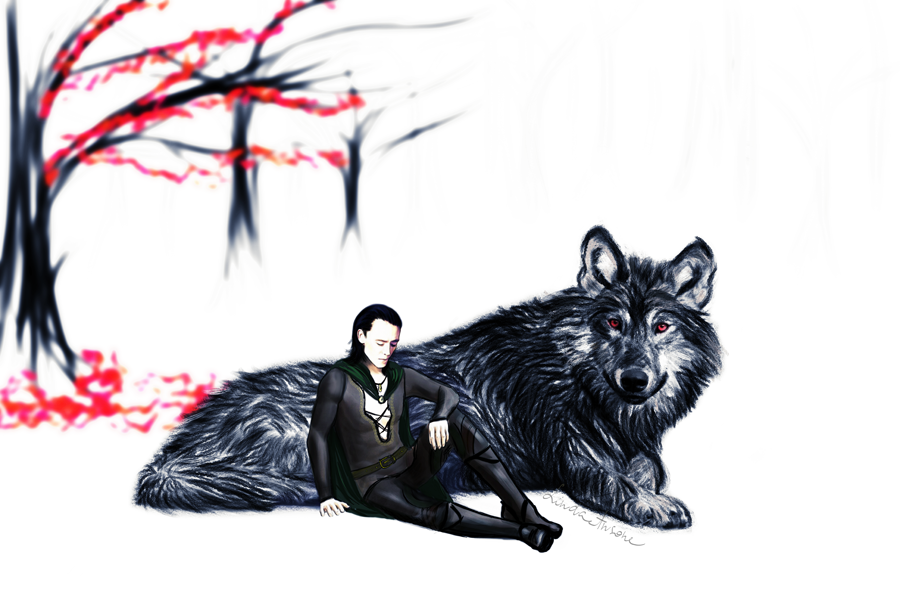 Fashion and Action: Loki Fan Art Gallery - Avengers Daily ... |Loki Fenrir