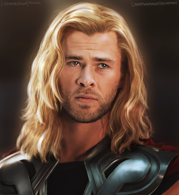 Thor by LindaMarieAnson