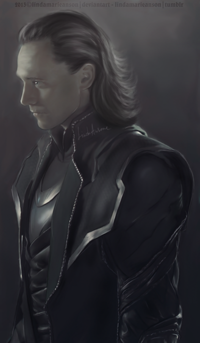 Loki - Damaged by LindaMarieAnson