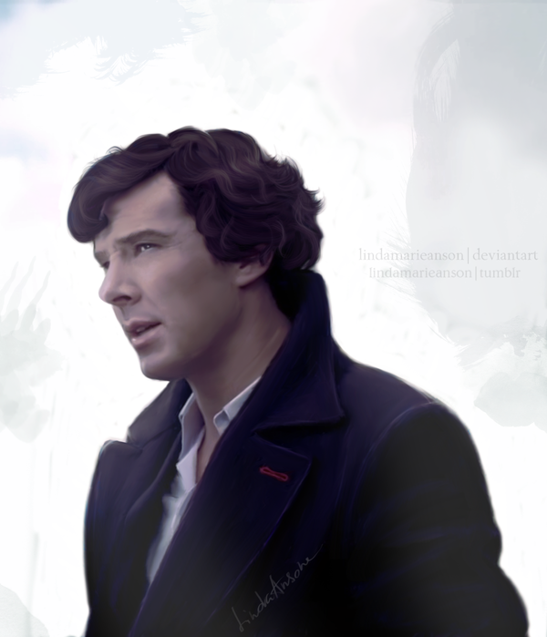 Sherlock Holmes by LindaMarieAnson
