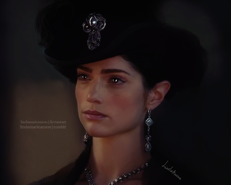 Mary Sibley by LindaMarieAnson