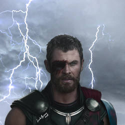 God Of Thunder by LindaMarieAnson