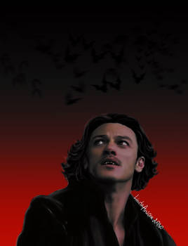 Inktober Day 31 Dracula - Fanart