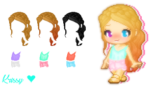 Fantage Custom Summer Pack~ by xkrxssy