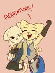 Katia and Rajirra Adventure