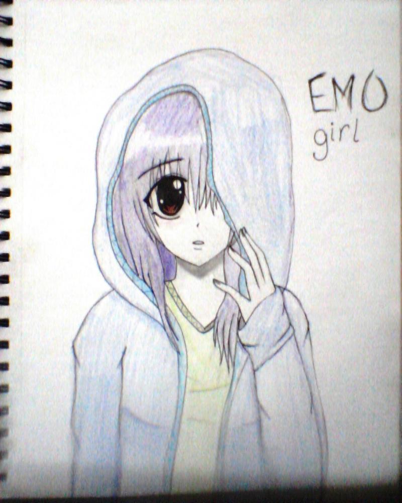 emo anime girl by sexylilemogirl on deviantart