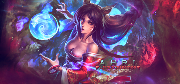 Ahri League of Legends by RosieRoses
