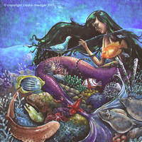 Mermaid by birdybear