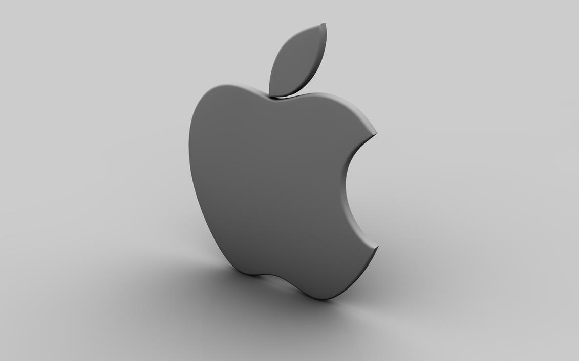3d apple grayrubasu on deviantart