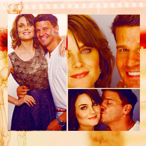 David Boreanaz And Emily Deschanel Wallpaper Emily Deschanel and David