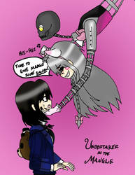 Undertaker as The Mangle~! by Mad-Hatter-ison
