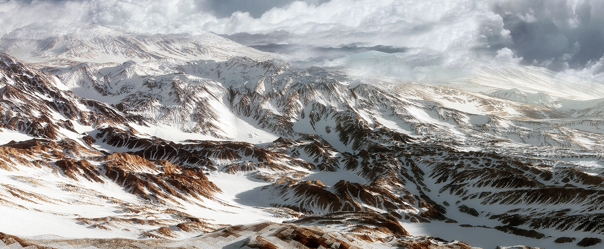 The Snow Mountain by ShannShah on DeviantArt