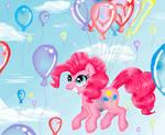 Pinky Pie in MS Paint