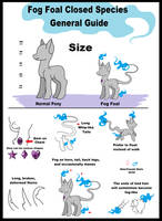 Fog Foals Species Guide (CLOSED SPECIES) by mlpdarksparx