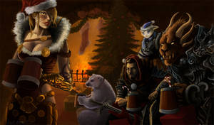Wintersday at Guild Wars
