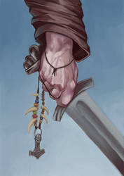 By the sword in my hand by Sarmati