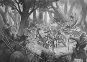 Slavic warfare. by Sarmati