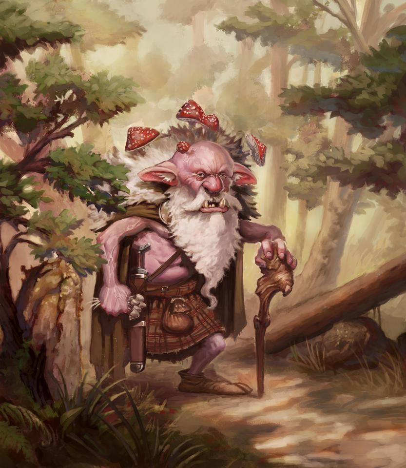 Toadstool Troll by Sarmati