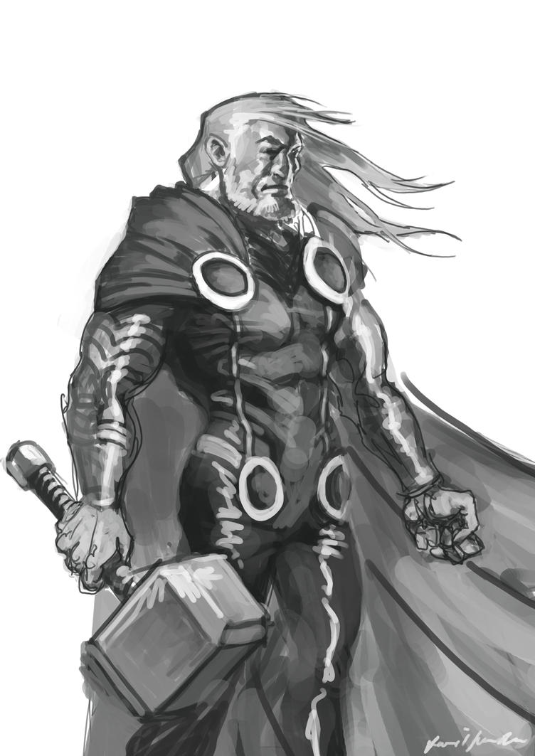 Marvel Thor by Sarmati