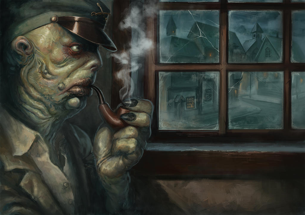 Innsmouth sailor by Sarmati