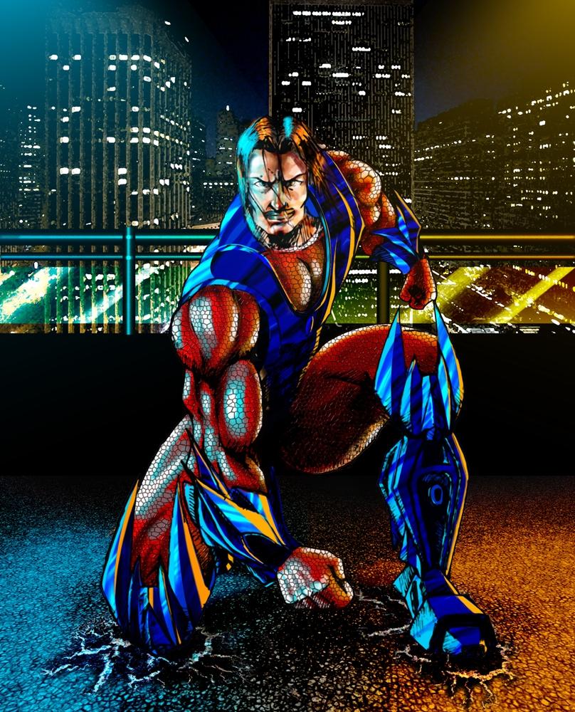 Optimus Prime, in human form by devianchild on DeviantArt