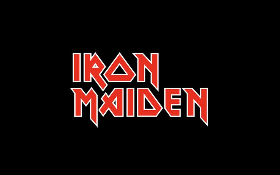 Iron Maiden Logo By W00den Sp00n