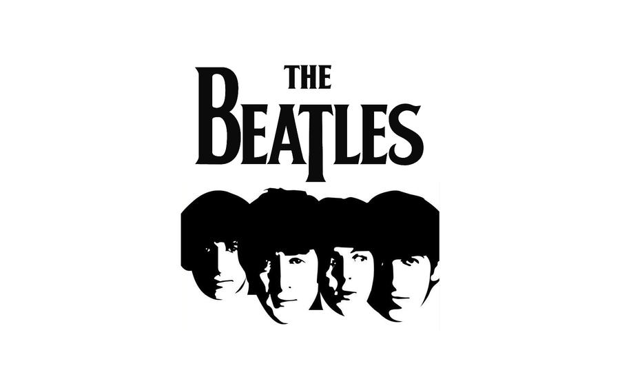 The Beatles Heads By W00den Sp00n