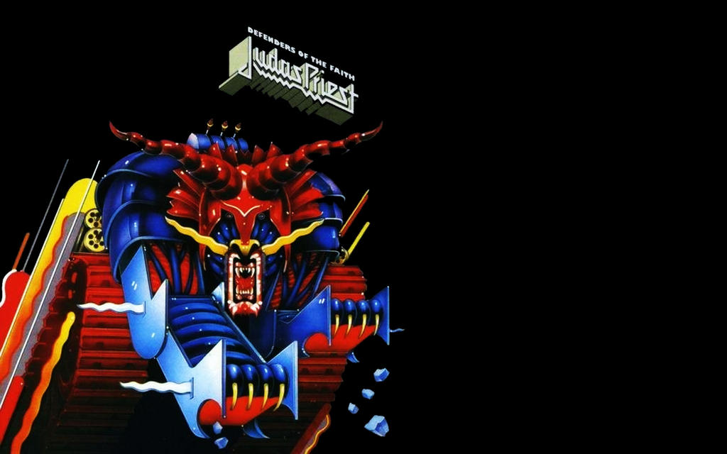 judas priest defenders of the faith by w00den sp00n on deviantart. Black Bedroom Furniture Sets. Home Design Ideas